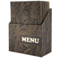 Box x10 Meniu Design Paisley
