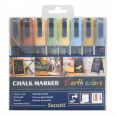 Marker Creta Medium 2-6mm SET 8 CULORI PAMANT