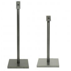 Picior + baza display otel protejat